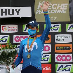 21-04-2021: Wielrennen: Waalse Pijl Elite Men: Huy Alejandro Valverde