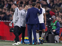 File photo dated 23-03-2018 of England's Joe Gomez. Joe Gomez has withdrawn from the England squad and returned to Liverpool for further assessment by his club's medical team.