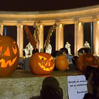 Halloween Festival in Budapest, Hungary on October 27, 2012. ATTILA VOLGYI