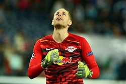 November 5, 2019, St. Petersburg, Russia: Russian Federation. Saint-Petersburg. Gazprom Arena. Football. UEFA Champions League. Group G. round 4. Football club Zenit - Football Club RB Leipzig. Football player of the Republic of Belarus RB Leipzig Peter Gulachi (Credit Image: © Russian Look via ZUMA Wire)