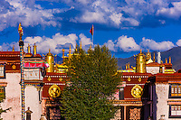 Jokhang Temple, Lhasa, Tibet (Xizang), China.