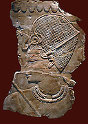 Amenhotep III (Amenophis III) Ninth pharaoh of the Eighteenth dynasty. Ruled Egypt from 1386 to 1349 BC after death of his father Thutmose IV.  Relief depicting the King .