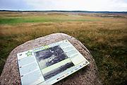 Nederland, Ede, 5-8-2012Monument op de Ginkelse Heide voor de airborne parachutisten die hier landden tijdens de operatie Market Garden in 1944.Het is ook een mooi natuurgebied waar mensen een wandeling door de heidevelden kunnen maken.Foto: Flip Franssen/Hollandse Hoogte