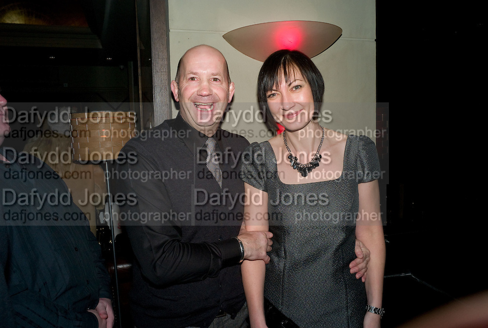 Geoff Thompson; Sharon Thompson. , Party after the Premiere of 'Clubbed', at Sugar Reef. SohoLondon. 7 January 2009 *** Local Caption *** -DO NOT ARCHIVE-© Copyright Photograph by Dafydd Jones. 248 Clapham Rd. London SW9 0PZ. Tel 0207 820 0771. www.dafjones.com.<br /> Geoff Thompson; Sharon Thompson. , Party after the Premiere of 'Clubbed', at Sugar Reef. SohoLondon. 7 January 2009