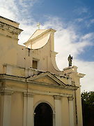 Backside view of Catedral San Juan Bautista; Old San Juan/Viejo San Juan