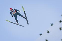 28.02.2021, Oberstdorf, GER, FIS Weltmeisterschaften Ski Nordisch, Oberstdorf 2021, Mixed Teambewerb, Skiisprung HS106, im Bild Daniela Iraschko-Stolz (AUT) // Daniela Iraschko-Stolz of Austria during the ski jumping HS106 mixed team competition of FIS Nordic Ski World Championships 2021 in Oberstdorf, Germany on 2021/02/28. EXPA Pictures © 2021, PhotoCredit: EXPA/ JFK