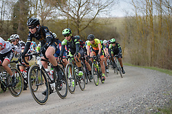 Rossella Ratto (Cylance) at Strade Bianche - Elite Women. A 127 km road race on March 4th 2017, starting and finishing in Siena, Italy. (Photo by Sean Robinson/Velofocus)