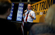 Democratic 2020 U.S. presidential candidate and billionaire activist Tom Steyer speaks at a town hall meeting in Ankeny, Iowa U.S. January 28, 2020.     REUTERS/Rick Wilking