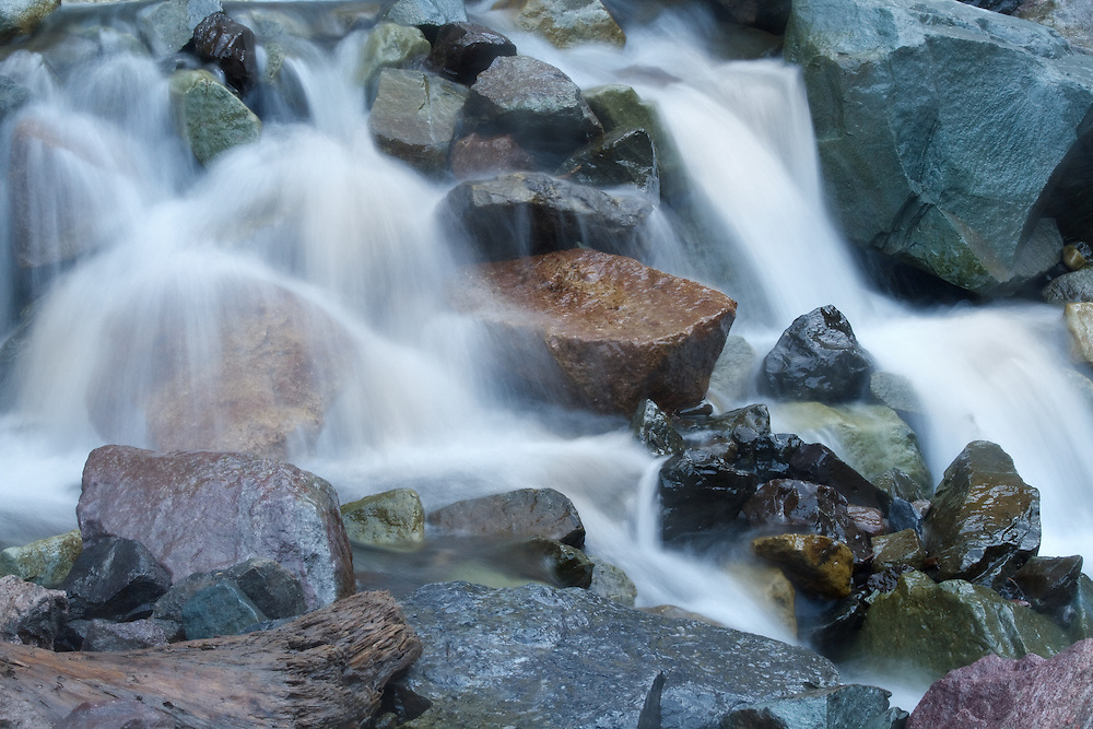 Cascade Falls is one of a series of seven waterfalls that carries snowmelt off the mountains and down one of two flumes through Ouray. The Falls are high in the redstone cliffs overlooking Ouray, and can be seen from many vantage points around the city.