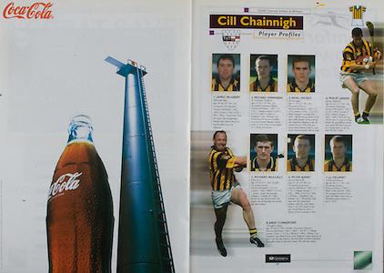 All Ireland Senior Hurling Championship Final,.08.09.2002, 09.08.2002, 8th September 2002,.Senior Kilkenny 2-20, Clare 0-19,.Minor Kilkenny 3-15, Tipperary 1-7,.8092002AISHCF,.Coca Cola,