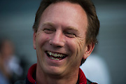 April 17, 2014 - Shanghai, China. UBS Chinese Formula One Grand Prix. Christian Horner, Red Bull Team principal<br /> <br /> © Jamey Price / James Moy Photography