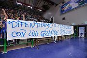 DESCRIZIONE : Campionato 2015/16 Serie A Beko Dinamo Banco di Sardegna Sassari - Umana Reyer Venezia<br /> GIOCATORE : Commando Ultra' Dinamo<br /> CATEGORIA : Ultras Tifosi Spettatori Pubblico Striscione<br /> SQUADRA : Dinamo Banco di Sardegna Sassari<br /> EVENTO : LegaBasket Serie A Beko 2015/2016<br /> GARA : Dinamo Banco di Sardegna Sassari - Umana Reyer Venezia<br /> DATA : 01/11/2015<br /> SPORT : Pallacanestro <br /> AUTORE : Agenzia Ciamillo-Castoria/L.Canu