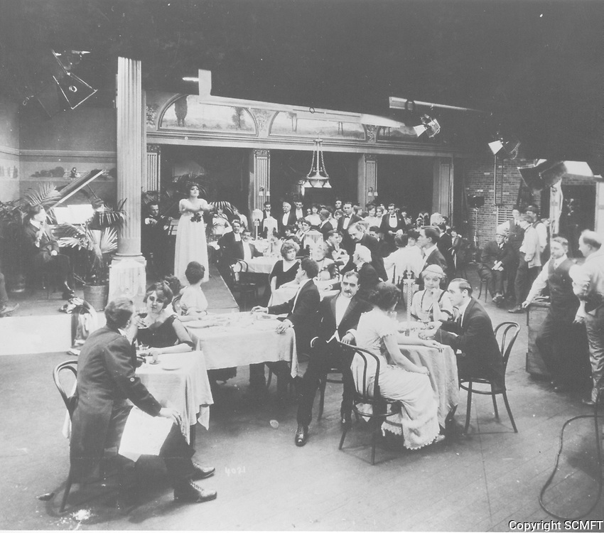 1909 Filming at Essanay Studios in Chicago