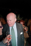 JULIAN FELLOWES, Orion Authors' Party celebrating their 20th anniversary. Natural History Museum, Cromwell Road, London, 20 February 2012.