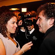 NLD/Utrecht/20101001 - NFF 2010 - Gouden Kalveren 2010 uitreiking, Film1 journaliste Larissa Prent