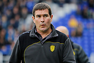 Burton Albion manager Nigel Clough during the EFL Sky Bet Championship match between Birmingham City and Burton Albion at St Andrews, Birmingham, England on 17 April 2017. Photo by Richard Holmes.