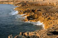 Coastline at Dwejra, Gozo, Maltese Islands