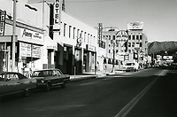 1971 Looking north on Cahuenga Blvd. towards Hollywood Blvd.