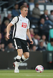 Alex Pearce of Derby County in action - Mandatory by-line: Jack Phillips/JMP - 09/08/2016 - FOOTBALL - iPro Stadium - Derby, England - Derby County v Grimsby Town - EFL Cup First Round