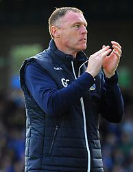 Bristol Rovers manager Graham Coughlan applauds fans prior to kick-off- Mandatory-by line: Nizaam Jones/JMP - 04/05/2019 - FOOTBALL - Memorial Stadium - Bristol, England - Bristol Rovers v Barnsley - Sky Bet League One