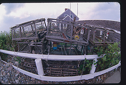 Wooden Lobster Traps, Scituate, Massachusetts, US