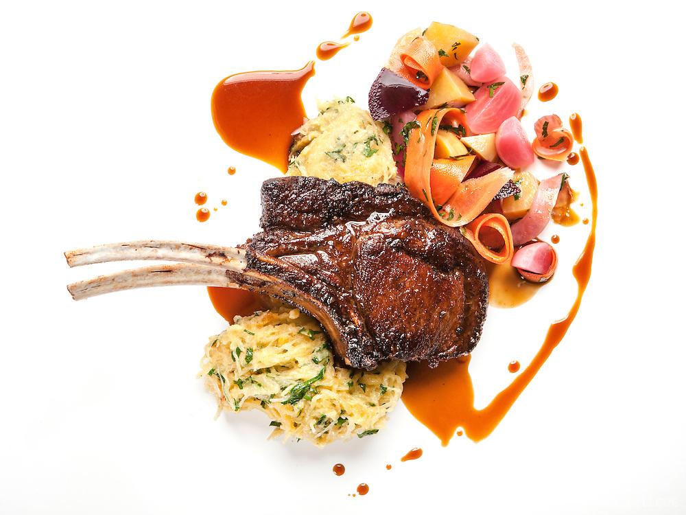 Food photography. Restaurant L'Orignal, Montreal - Chef Dan Geltner. 2013.