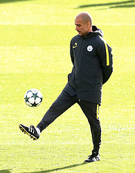 Pep Guardiola of Manchester City - Mandatory by-line: Matt McNulty/JMP - 18/10/2016 - FOOTBALL - Manchester City - Training session ahead of Champions League qualifier against FC Barcelona