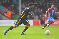 Jermaine Anderson of Bradford City (18) in action during the EFL Sky Bet League 1 match between Scunthorpe United and Bradford City at Glanford Park, Scunthorpe, England on 27 April 2019.