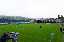 A general view of the Recreation Ground - Mandatory byline: Patrick Khachfe/JMP - 07966 386802 - 15/08/2020 - RUGBY UNION - The Recreation Ground - Bath, England - Bath Rugby v London Irish - Gallagher Premiership