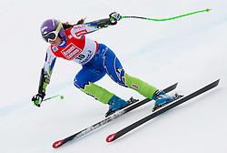 08.01.2012, Weltcupabfahrt Kaernten – Franz Klammer, Bad Kleinkirchheim, AUT, FIS Weltcup Ski Alpin, Damen, Super G, im Bild Tina Maze (SLO, Rang 2) // second place Tina Maze of Slovenia during ladies Super G at FIS Ski Alpine World Cup at 'Kaernten – Franz Klammer' course in Bad Kleinkirchheim, Austria on 2012/01/08. EXPA Pictures © 2012, PhotoCredit: EXPA/ Johann Groder