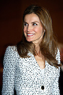 091913 Princess Letizia Congress '60 years of life because of you', the Spanish Association Against