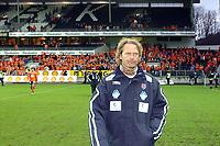 Fotball Eliteserien 10.04.05 - Rosenborg ( RBK ) - Aalesund  2-2, Ivar Morten Normark var nok en smule skuffet over at det ikke holdt helt inn                              <br /> Foto. Carl-Erik Eriksson, Digitalsport