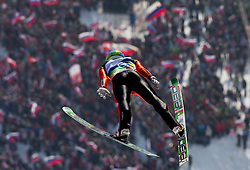 POGRAJC Andraz of Slovenia during the Flying Hill Team Event at 3rd day of FIS Ski Jumping World Cup Finals Planica 2013, on March 23, 2013, in Planica, Slovenia. (Photo by Vid Ponikvar / Sportida.com)