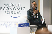 Kanini Mutooni, Managing Director, Europe, Middle East and Africa, Toniic, USA; Young Global Leader speaking during the session Promoting Female Leadership at the World Forum World Economic Forum on Africa 2019. Copyright by World Economic Forum / Greg Beadle