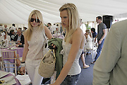 Marissa Montgomery and Lady Alexandra Gordon-Lennox Cartier Style et Luxe champagne reception and lunch at the  the Goodwood festival of Speed. 9 July 2006. -DO NOT ARCHIVE-© Copyright Photograph by Dafydd Jones 66 Stockwell Park Rd. London SW9 0DA Tel 020 7733 0108 www.dafjones.com
