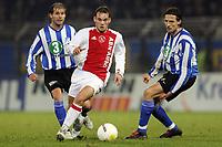 Fotball<br /> Nederland<br /> Foto: ProShots/Digitalsport<br /> NORWAY ONLY<br /> <br /> seizoen 2005-2006 gatorade cup eindhoven 22-12-2005 .fc eindhoven - ajax aktie van wesley sneijder