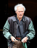 Clint Eastwood looking old in New York