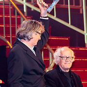 NLD/Utrecht/20121005- Gala van de Nederlandse Film 2012, Jos Stelling en collega