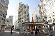 China, Beijing, modern cityscape