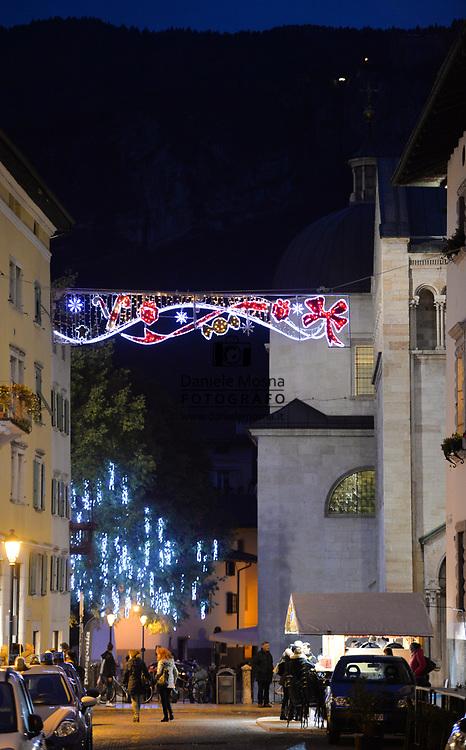 Mercatini di Natale Trento 26 novembre 2018 © foto Daniele Mosna Mercatini di Natale Trento, vie della città Trento 26 novembre 2018 © foto Daniele Mosna