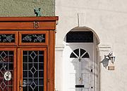 Front doors,Walthamstow. London, UK, 2009