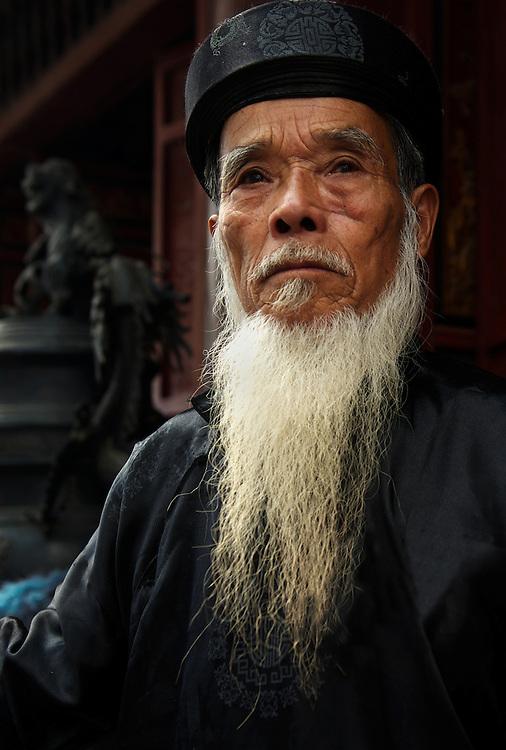 A temple guardian, Perfume Pagoda, near Hanoi