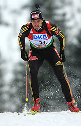 Alexander Wolf  (GER) at Men 20 km Individual at E.ON Ruhrgas IBU World Cup Biathlon in Hochfilzen (replacement Pokljuka), on December 18, 2008, in Hochfilzen, Austria. (Photo by Vid Ponikvar / Sportida)