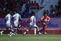 Josua Tuisova  - 09.05.2015 - Toulon / Castres  - 24eme journee de Top 14 <br />Photo :  Alexandre Dimou / Icon Sport