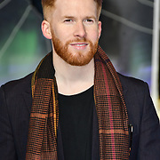 Neil Jones attends Premiere of M. Night Shyamalan's superhero thriller Glass, which follows Unbreakable and Split on 9 January 2019, London, UK.
