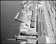 "Ackroyd 18335-08 ""FMC. aerials of yard 1000'. May 29, 1973."" (Gunderson, vicinity of new crane."