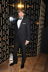 ALEX JAMES at the 2008 British Fashion Awards held at the Lawrence Hall, Westminster, London on 25th November 2008.
