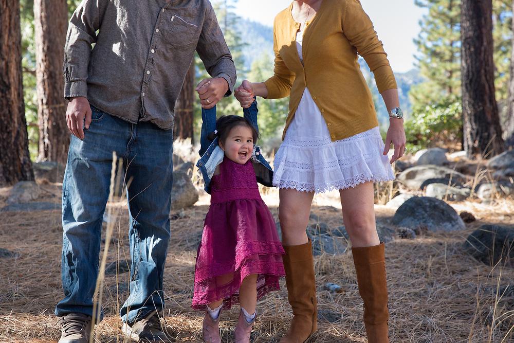 Markleeville, California Family Portrait Session