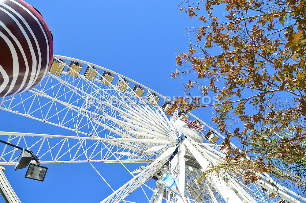 Giant Ferris Wheel At The Orange County Fair