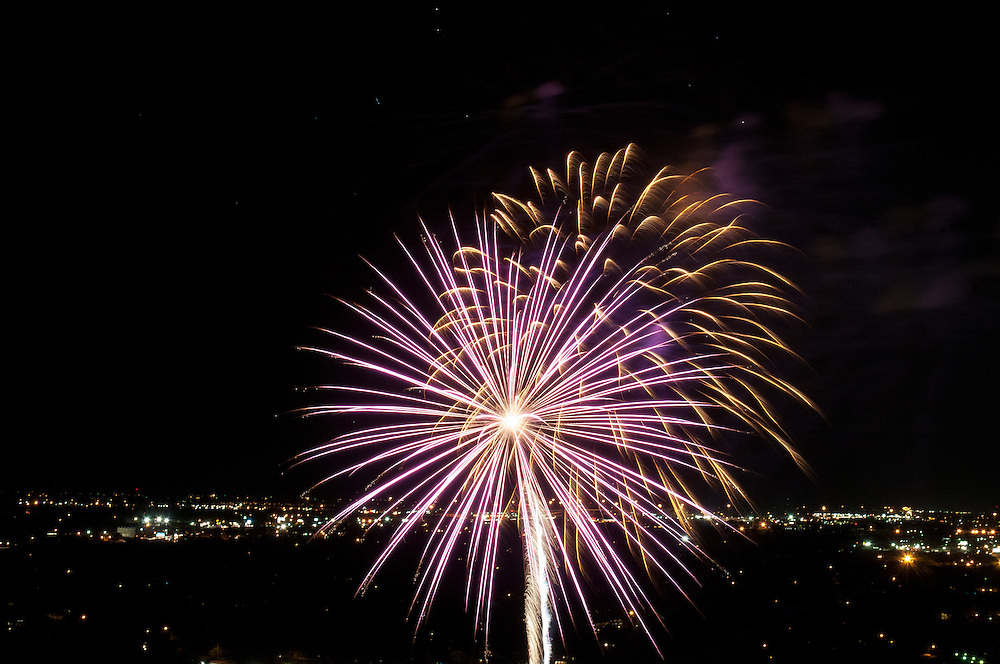 The Four Seasons Residences Austin hosted a party Friday night for current, future and prospective residents. A highlight of the evening was a fireworks show.